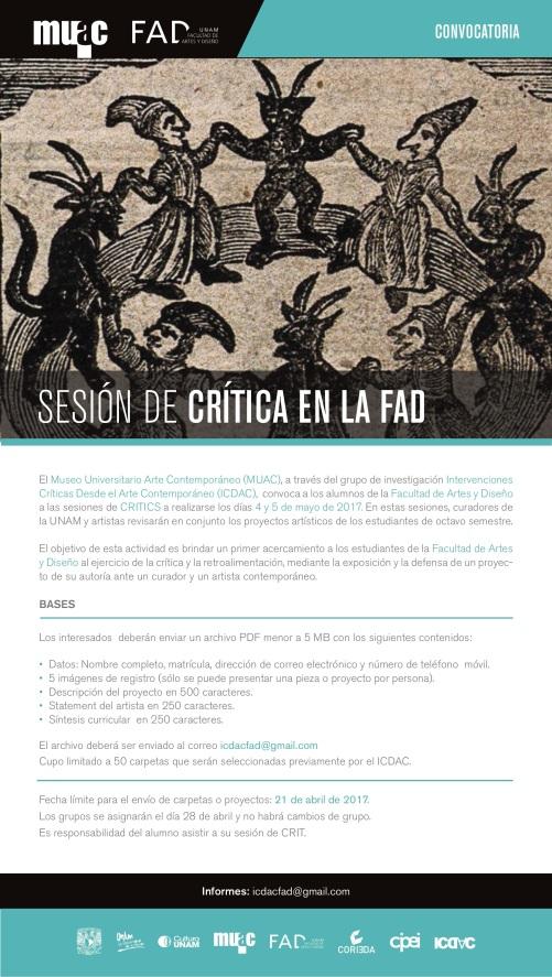 Sesión de Crítica en la FAD