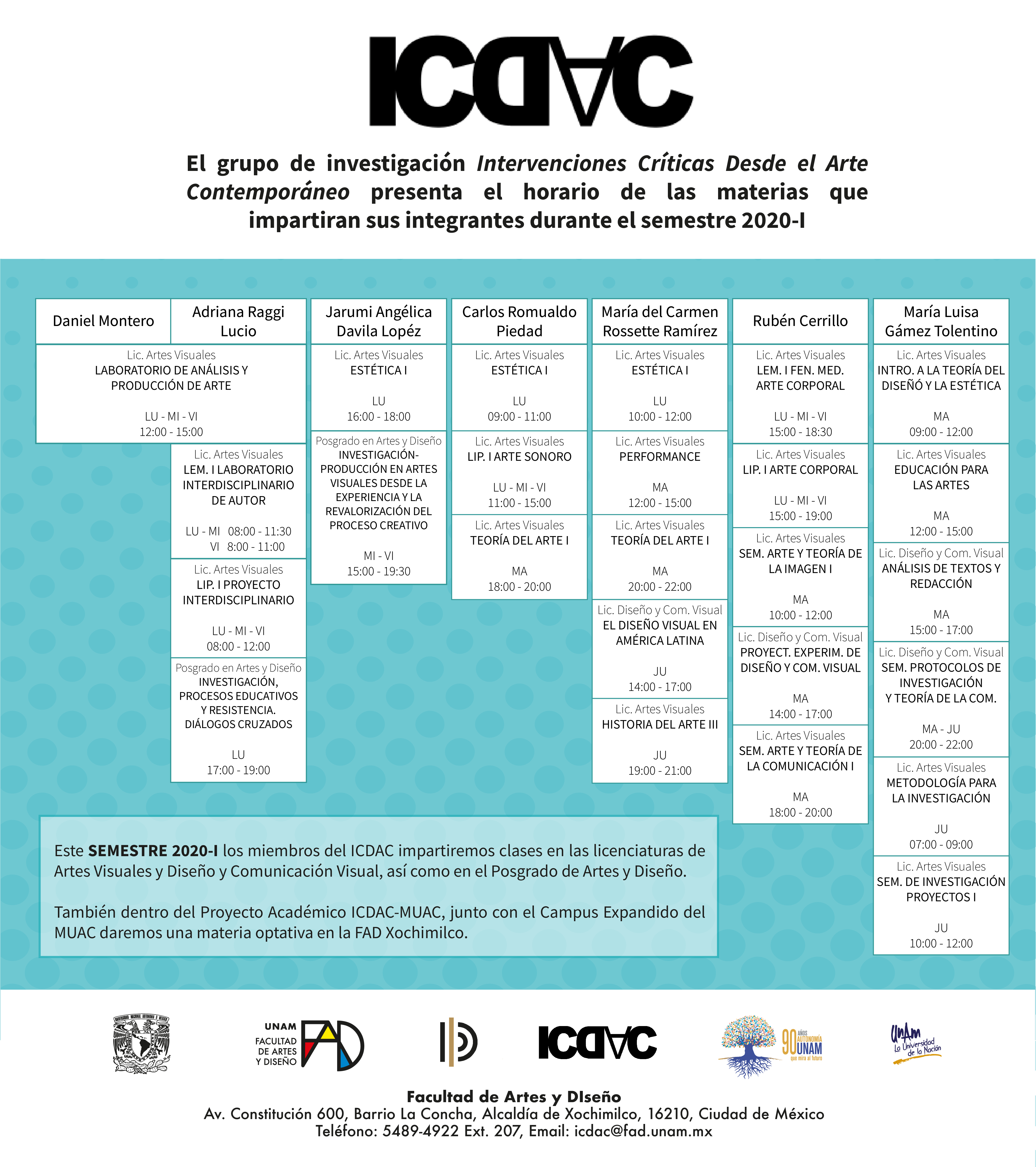 CLASES ICDAC